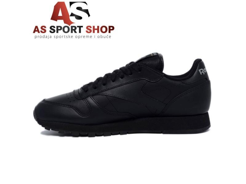 Reebok Classic - crna kožna muška patika - As Sport