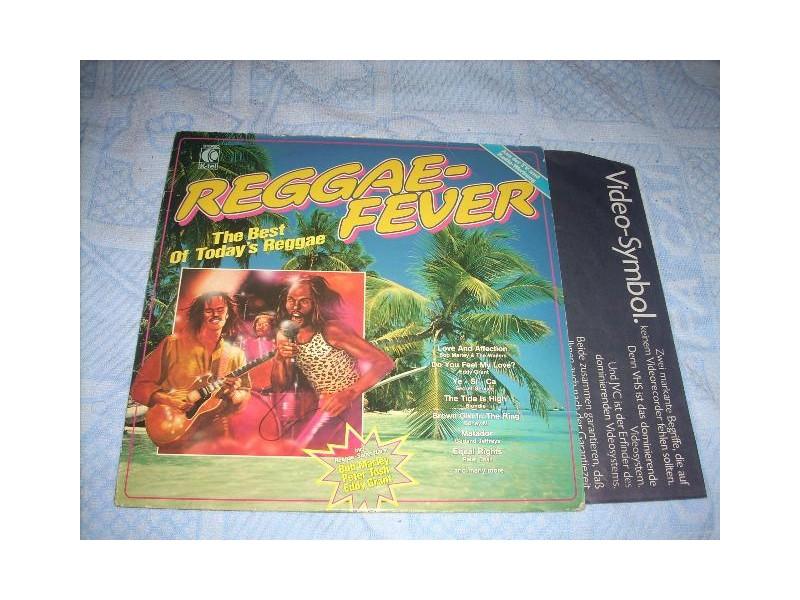 Reggae Fever - The Best Of Today`s Reggae LP Austria
