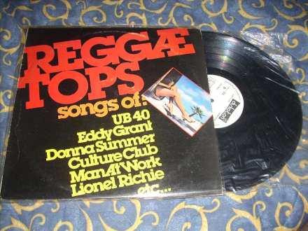 Reggae Tops LP Kompilacija