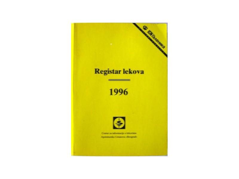 Registar lekova 1996