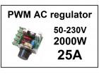 Regulator AC motora - PWM - 25A - 2000W