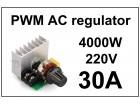Regulator AC motora - PWM - 30A - 4000W