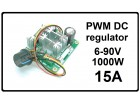 Regulator DC motora - PWM - 15A