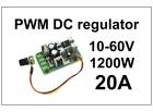 Regulator DC motora - PWM - 20A - HHO