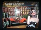 Reklama limena Sternquell Pilsner pivo