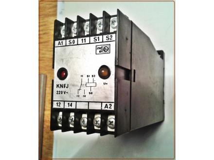 Relej za kontrolu nivoa tečnosti EI KNFJ 220V 50Hz