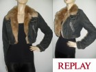 Replay, original, 2u1 teksas jakna sa krznom!!