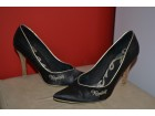 Replay satenske cipele crne