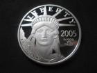 Replika    50 US $ , 2005., LIBERTY, Platina*, 1/2 unce