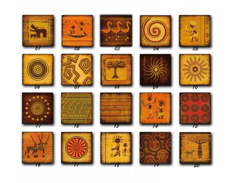 Reprodukcije na medijapanu African art