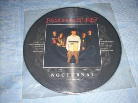 Resurrecturis-Nocturnal Picture LP