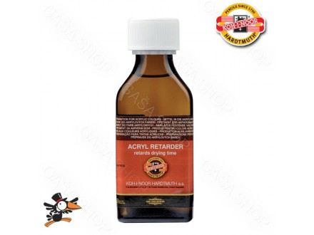 Retarder Koh-I-Noor Acryl drying time 100ml Art. 165544