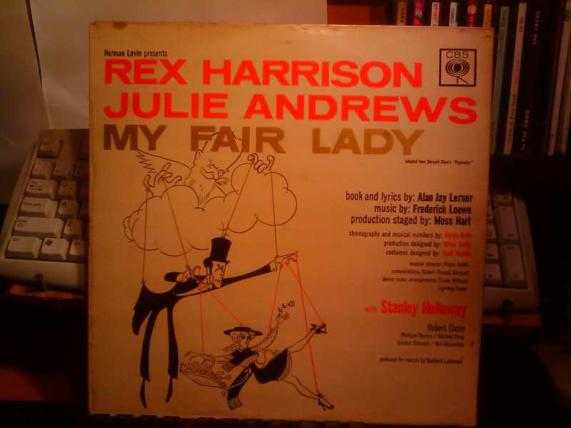 Rex Harrison, Julie Andrews, Stanley Holloway, Al Lerner, Frederick Loewe - My Fair Lady - Original Cast, Recorded In London