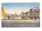 Rijeka,Fiume,color razglednica,Kraljevina,1924,putovala