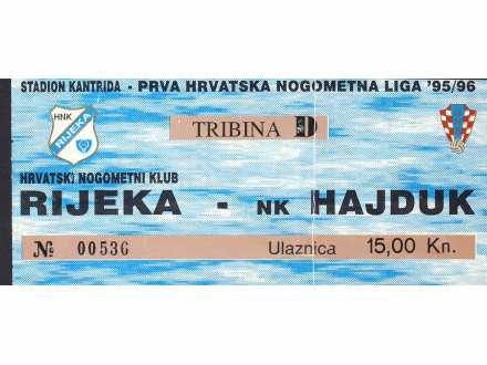 Rijeka - Hajduk   ,   1995/96