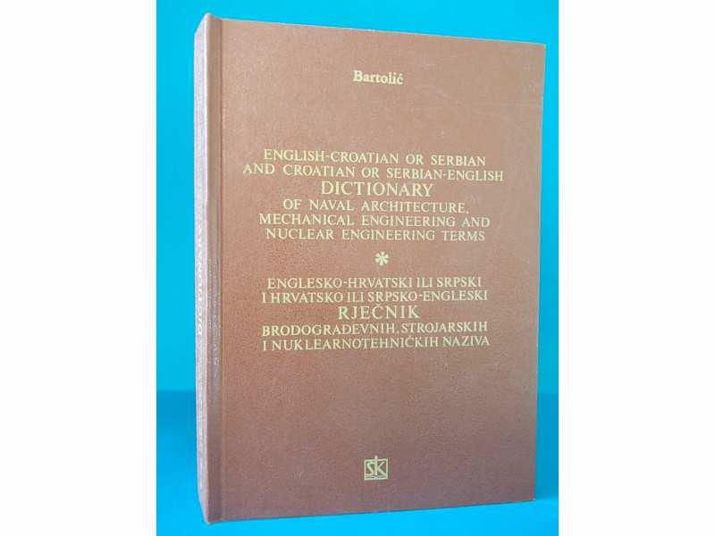 Rječnik brodograđevnih, strojarskih i nuk.tehn. naziva