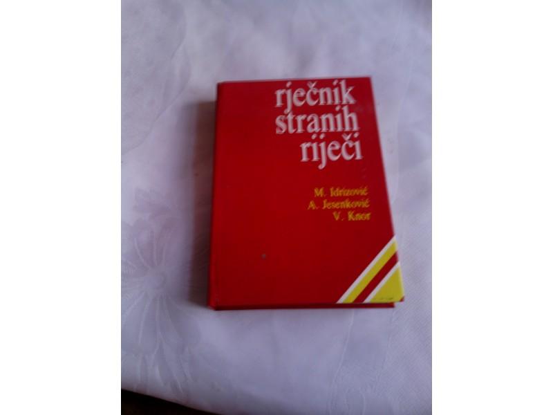 Rječnik stranih riječi, M Idrizović, A Jasenković