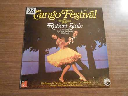 Robert Stolz And His Romantic Symphony Orchestra - Tango Festival