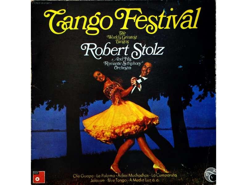 Robert Stolz And His Romantic Symphony Orchestra - Tango Festival