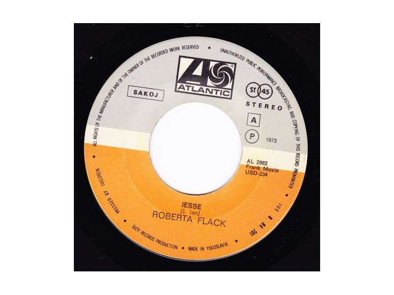 Roberta Flack - Jesse / The First Time I Saw Your Face