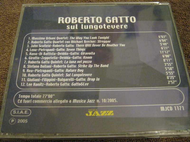 Roberto Gatto - Sul lungotevere