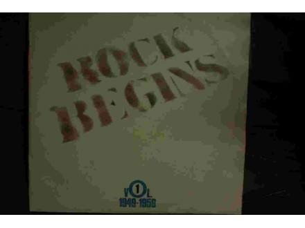 Rock Begins Vol. 1 1949-1956