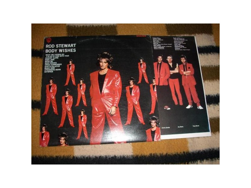 Rod Stewart-Body Wishes LP