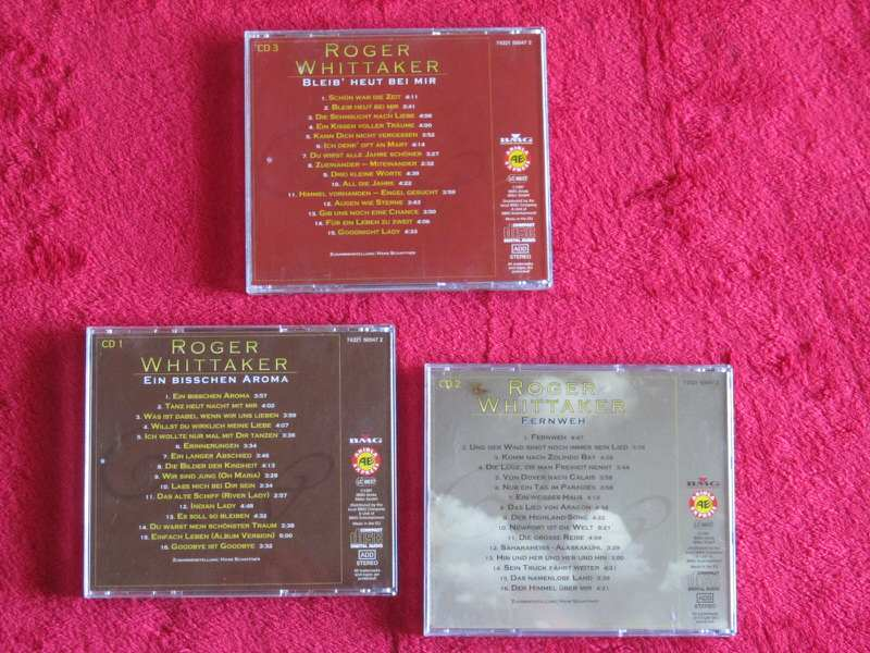 Roger Whittaker - 3 CD