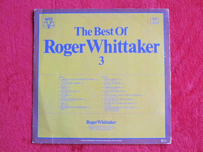 Roger Whittaker - The Best Of Roger Whittaker 2