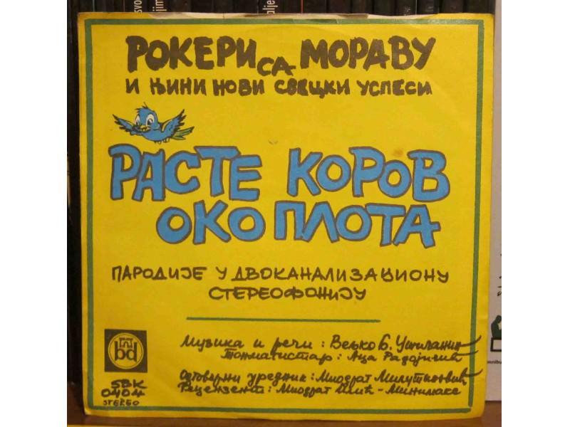 Rokeri S Moravu - Turio Ljubiša Pivo Da Se `Ladi / Raste Korov Oko Plota