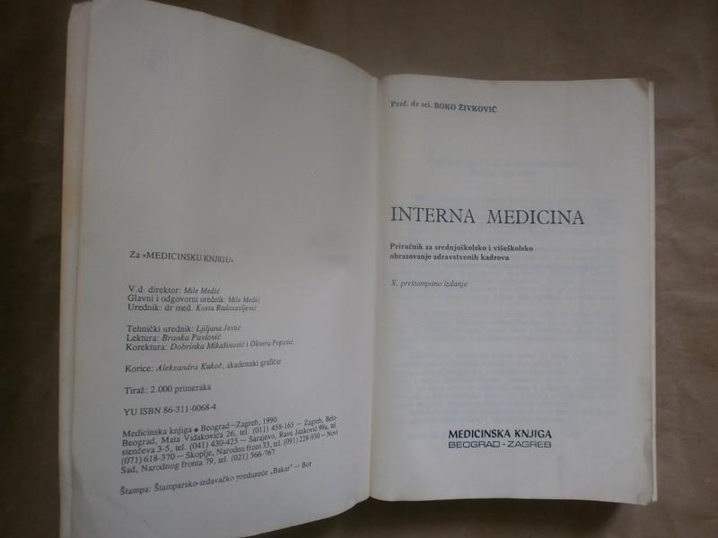 Roko Zivkovic   INTERNA MEDICINA