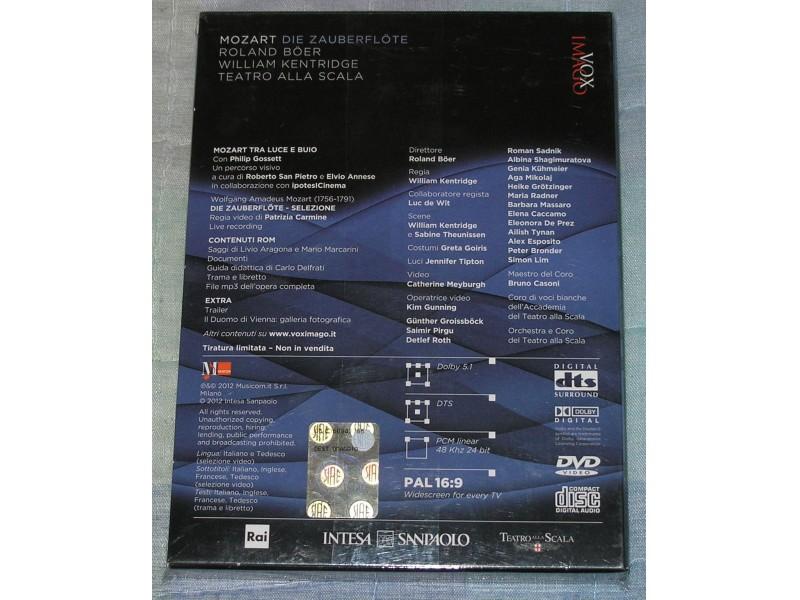 Roland Boer - W.A.MOZART - DIE ZAUBERFLOTE CD+DVD