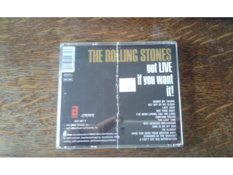 Rolling Stones, The - Got LIVE If You Want It!
