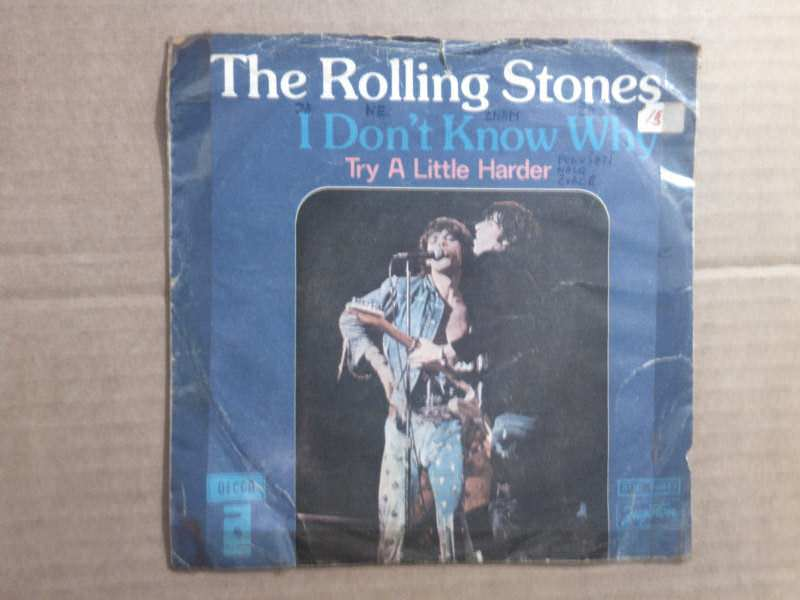 Rolling Stones, The - I Don`t Know Why / Try A Litle Harder