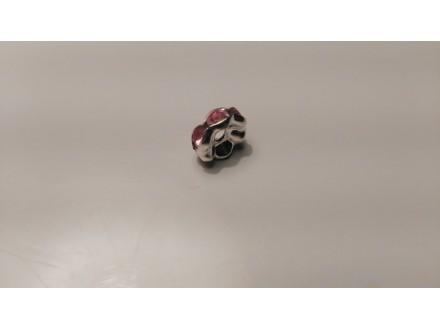 Rondele  roze 8x4cm 19 kom/100din