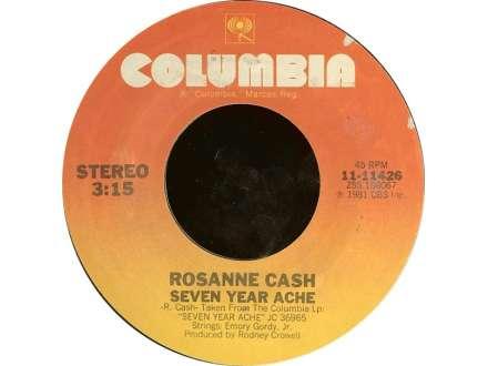 Rosanne Cash - Seven Year Ache / Blue Moon With Heartache