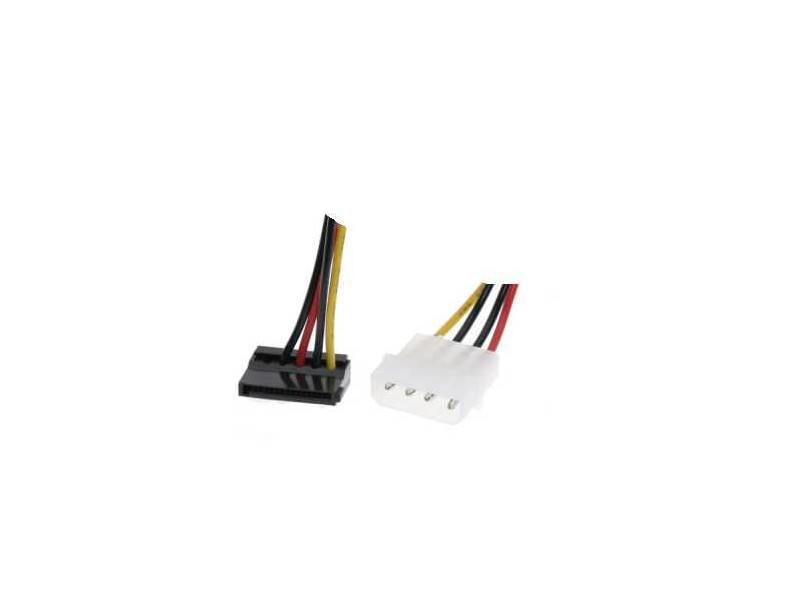 Rotronic Roline SATA, 15 pin to 4 pin power adapter pod uglom, 0.2m