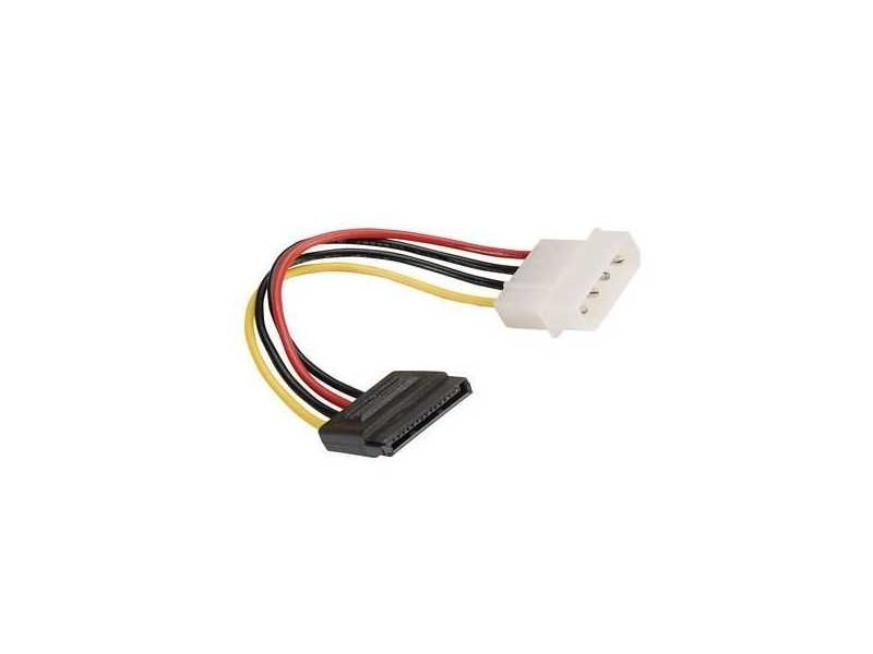 Rotronic Roline SATA, molex 15 pin to 4 pin power adapter, 0.15m
