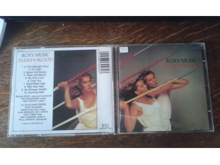 Roxy Music - Flesh And Blood