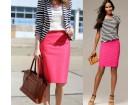 Roza suknja Ken Marshal-poslovna odlicna!