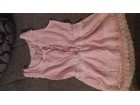 Roze majica-tunika
