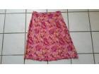 Roze sarena suknja 100%viskoza
