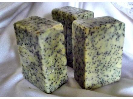 Ručno rađeni sapuni - MAK I CIMET- 3 komada