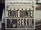 Rudolf Serkin:Quintet In A Major For Piano And Strings,