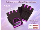 Rukavice za teretanu i fitness za žene / lady gloves
