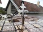 Ruski krst sa linijama ogrlica,Simbol Pravoslavlja