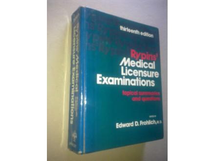 Rypin s Medical Licensure Examinations