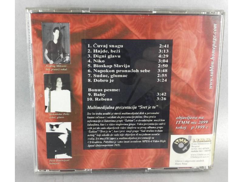 ŠABLON - ČUVAJ SNAGU, CD, Radio & Press CD-CDR Edition