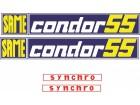 SAME CONDOR 55 - Nalepnice za traktor