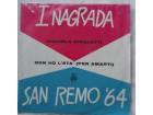 SAN  REMO `64 - I Nagrada GIGLIOLA CINQUETTI
